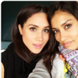 Meghan Markle et Janina Gavankar, son amie depuis 2001, en octobre 2016, photo Instagram.