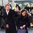 Le prince Harry et sa fiancée Meghan Markle à Nottingham le 1er décembre 2017.