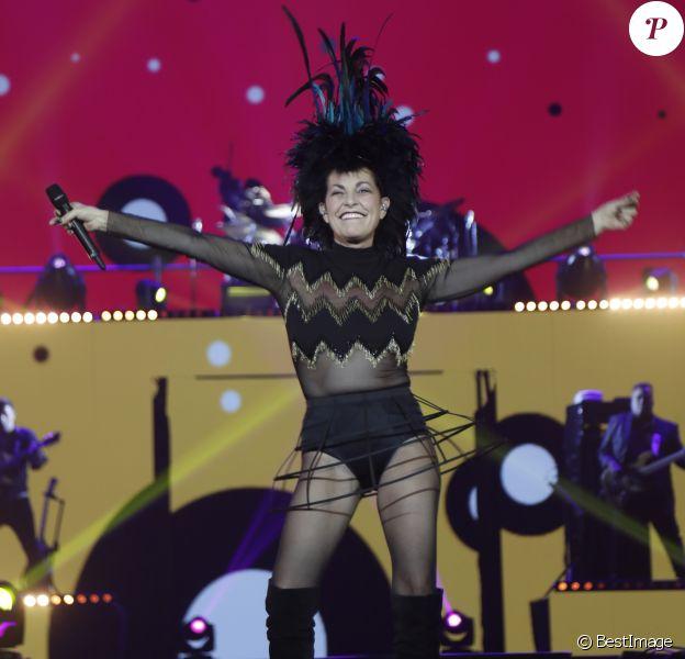 Semi-Exclusif - Lio - Concert Stars 80 - 10 ans déja ! à l'U Arena de Nanterre le 2 décembre 2017. © Marc-Ausset Lacroix/Bestimage