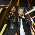 Semi-Exclusif - Joniece Jamison, François Feldman - Concert Stars 80 - 10 ans déja ! à l'U Arena de Nanterre le 2 décembre 2017. © Marc-Ausset Lacroix/Bestimage