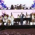 Semi-Exclusif - Gilbert Montagné - Concert Stars 80 - 10 ans déja ! à l'U Arena de Nanterre le 2 décembre 2017. © Marc-Ausset Lacroix/Bestimage