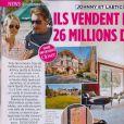 Johnny Hallyday et Laeticia vendent leur popriété de Marnes-la-Coquette