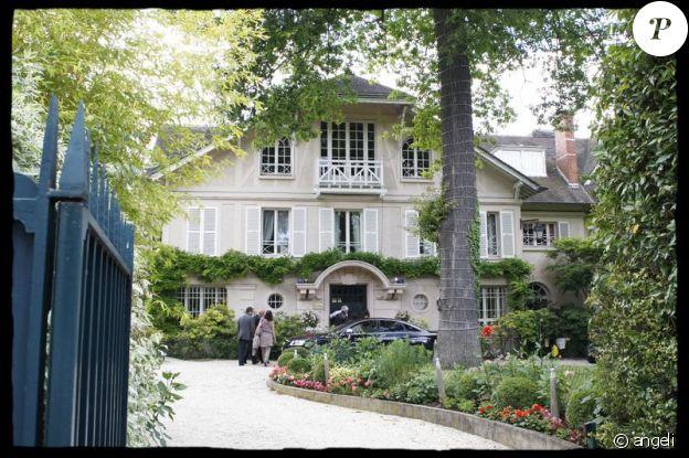 Propriété de Laeticia et Johnny Hallyday, à Marnes-la-Coquette