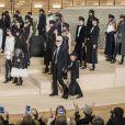 """Défilé Chanel, collection Métiers d'Art """"Chanel à Hambourg"""" à la Philharmonie de l'Elbe. Hambourg, le 6 décembre 2017. © Olivier Borde/Bestimage"""