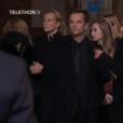 """""""David Hallyday et Estelle Lefébure - Obsèques de Johnny Hallyday, à Paris, le 9 décembre 2017"""""""