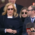 """""""Sylvie Vartan et Darina - Obsèques de Johnny Hallyday, à Paris, le 9 décembre 2017"""""""