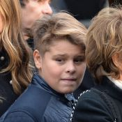 Johnny Hallyday : Son petit-fils Cameron, si discret, lui ressemble tant