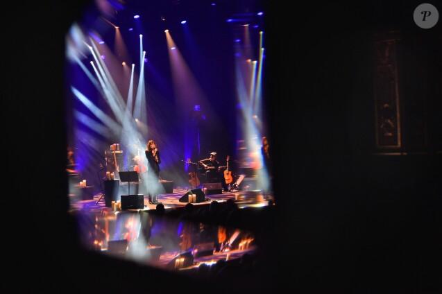 Exclusif - Carla Bruni Sarkozy est en concert à l'Opéra Garnier à Monaco. Le 29 novembre 2017. © Bruno Bebert / Bestimage