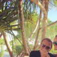 Laeticia et Johnny Hallyday sur Instagram le 2 mai 2016.