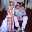 Laeticia et Johnny Hallyday sur Instagram le 6 août 2014.