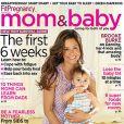 Brooke Burke, en couverture de  Mom & Baby  pour l'édition Printemps/été 2009.