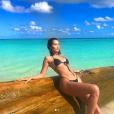 Bella Hadid sur une photo publiée sur Instagram le 27 novembre 2017