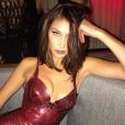 Bella Hadid sur une photo publiée sur Instagram le 30 novembre 2017