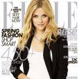 Reese Witherspoon en couverture du numéro d'avril 2009 de  Elle .