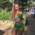 Parker Mckenna Posey (Kady) le 20 décembre 2017 à la Jamaïque.