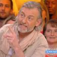 """Gilles Verdez et Géraldine Maillet critiquent Julien Castaldi dans """"Touche pas à mon poste"""" sur C8. Le 26 avril 2017."""
