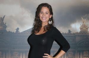 Lucie Lucas (Clem) enceinte : Un tournage