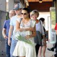 Matt Damon avec sa femme Luciana et ses parents Kent et Nancy lors d'une sortie en famille au restaurant pour son anniversaire le 8 octobre 2014.