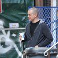 Matt Damon et son père Kent à New York, image d'archives.