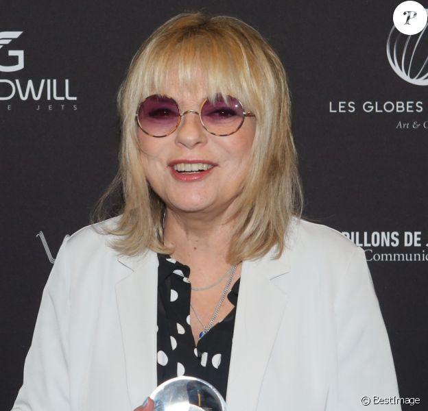 France Gall - 11e cérémonie des Globes de Cristal au Lido à Paris le 30 janvier 2017. © CVS / Bestimage