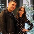 Alexa Dell et son compagnon Harrison Refoua sur une photo publiée sur son compte Instagram en décembre 2017.