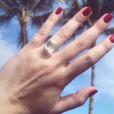 Alexa Dell, fille de Michael Dell (PDG et fondateur de l'entreprise informatique du même nom) dévoilant son impressionnante bague de fiançailles sur Instagram le 27 décembre 2017