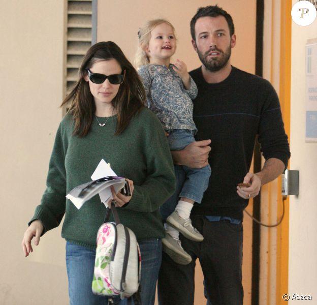 Jennifer Garner et Ben Affleck avec leur fille aînée Violet
