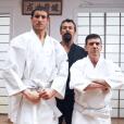 """""""Jean-Luc Reichmann, Timothée et Christian Quesada des  12 coups de midi  (TF1) dans une bande annonce TF1."""""""