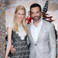 Reid Scott et sa femme Elspeth - Lancement de la 3e saison de 'Veep' 3 à Los Angeles, le 24 mars 2014