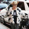 Exclusif - Pia Zadora se balade dans le quartier de Beverly Hills à Los Angeles, le 4 janvier 2018.