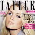 La couverture du magazine britannique Tatler du mois d'avril 2009 avec Kitty Spencer en couverture, la nièce de Lady Diana