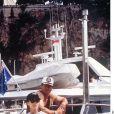 Sylvester Stallone et Jennifer Flavin - Vacances sur la Côte d'Azur en 1993