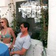 Sylvester Stallone et Jennifer Flavin - Saint-Tropez en 1995
