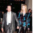 Sylvester Stallone et Jennifer Flavin - Avant-première du film The Whole Nine Yards à Los Angeles en 2000