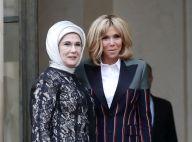 Brigitte Macron : Un look très fashion auprès de la première dame turque