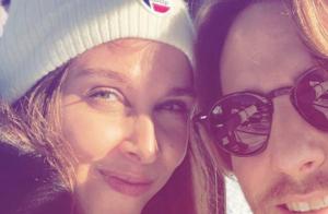 Ophélie Meunier et Mathieu Vergne : Pause tendresse et sportive pour les fiancés