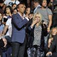 """Exclusif - Nikos Aliagas, France Gall - Enregistrement de l'émission """"La Chanson de l'Année, Fête de la Musique"""" à Nîmes présentée par Nikos Aliagas pour TF1 le 20 juin 2015.20/06/2015 - Paris"""