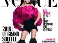 Kaia Gerber : La fille de Cindy Crawford, canon en couv' de Vogue Paris