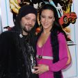 "Bam Margera - Premiere du film ""The Last Stand"" au theatre ""Grauman Chinese"" a Hollywood, le 14 janvier 2013."