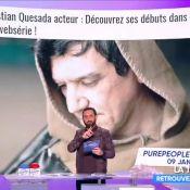 Christian Quesada mauvais acteur ? Sa réponse pleine d'humour