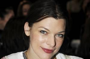 Milla Jovovich : Elle aura squatté toute la fashion week... dont le premier rang de Kenzo aujourd'hui !