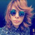 Florian de Souza, sosie de Mylène Farmer, sur Instagram le 8 novembre 2017.
