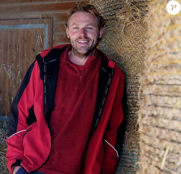 """Samuel, éleveur de vaches laitières en Nouvelle Aquitaine. """"L'amour est dans le pré 2018"""" sur M6"""