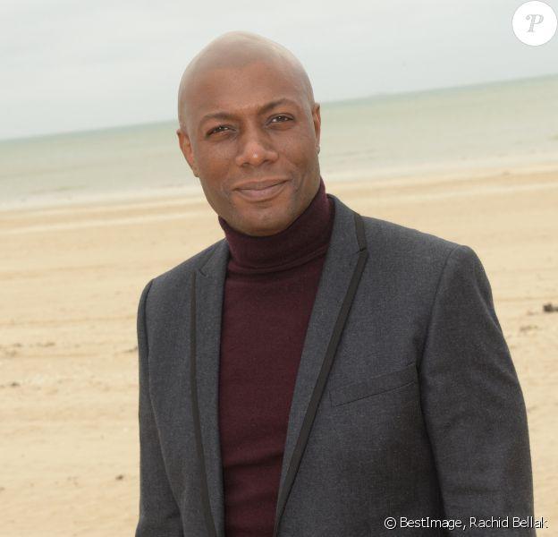 Semi-exclusif - Harry Roselmack - Rendez-vous sur la plage de La Baule lors de la 4ème édition le Festival du Cinéma et Musique de Film de La Baule le 10 novembre 2017. © Rachid Bellak/Bestimage