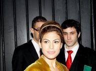 Eva Mendes très decolletée et Roxane Mesquida... Défilé de stars de cinéma chez Miu Miu !