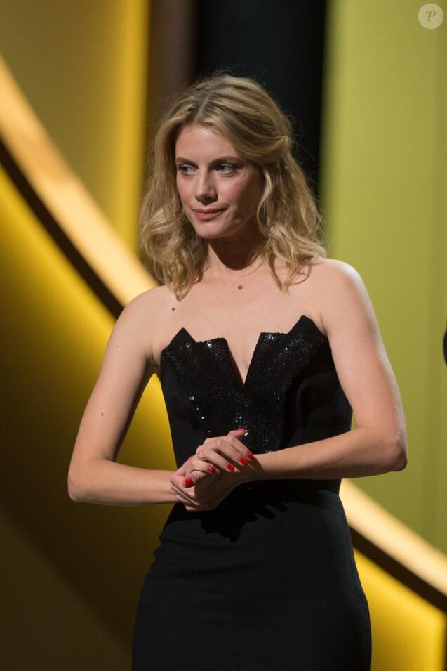 """Mélanie Laurent (César du meilleur documentaire pour """"Demain"""") - 41e cérémonie des César au Théatre du Chatelet à Paris le 26 février 2016"""
