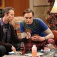 The Big Bang Theory. Photo Jim Parsons, Kevin Sussman