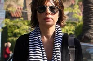Lisa Rinna... Botoxée mais super bien lookée !