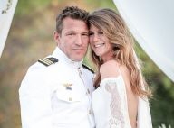 """Benjamin Castaldi, comblé avec Aurore, dévoile les images du """"mariage de sa vie"""""""