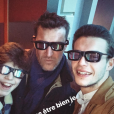 Benjamin Castaldi, un dimanche en famille à Disneyland Paris, 14 janvier 2018, Instagram